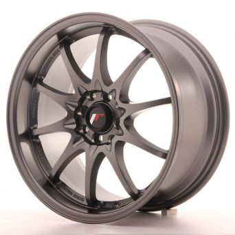 Japan Racing Wheels - JR-5 Matt Gun Metal (17x8.5 inch)