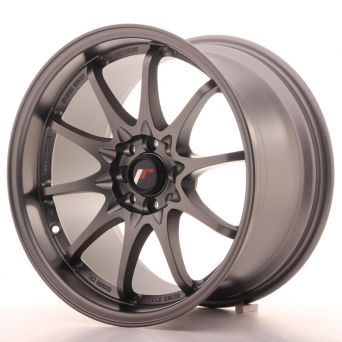 Japan Racing Wheels - JR-5 Matt Gun Metal (17x9.5 inch)