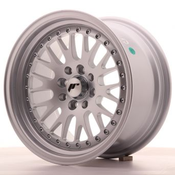 Japan Racing Wheels - JR-10 Full Silver (15 inch)