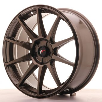 Japan Racing Wheels - JR-11 Glossy Bronze (19x8.5 inch)