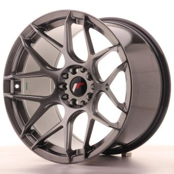 Japan Racing Wheels - JR-18 Hyper Black (18x10.5 inch)