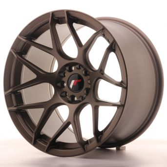 Japan Racing Wheels - JR-18 Matt Bronze (18x10.5 Zoll)