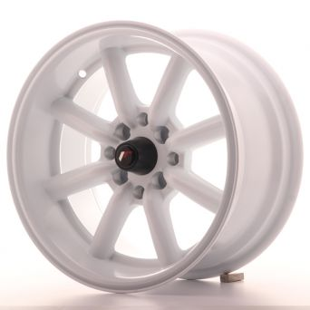 Japan Racing Wheels - JR-19 White (15x10.5 inch)