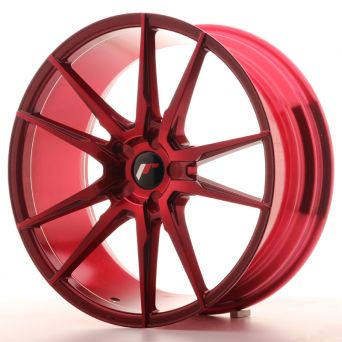 Japan Racing Wheels - JR-21 Plat Red (20x8.5 Zoll)