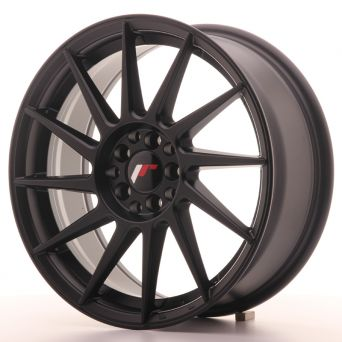 Japan Racing Wheels - JR-22 Matt Black (17x7 inch)