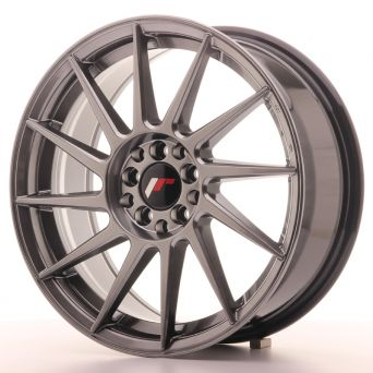 Japan Racing Wheels - JR-22 Hyper Black (17x7 inch)