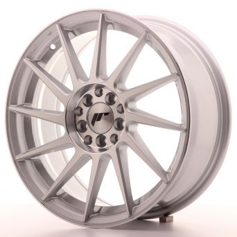 Japan Racing Wheels - JR-22 Silver Machined (17x7 inch)
