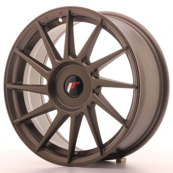 Japan Racing Wheels - JR-22 Matt Bronze (17x7 inch)