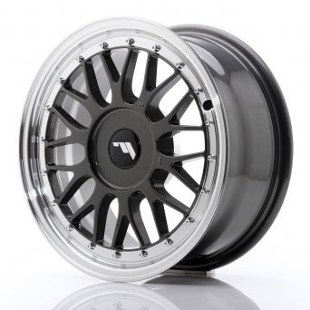 Japan Racing Wheels - JR-23 Hiper Black (16x7 inch)
