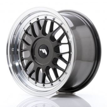 Japan Racing Wheels - JR-23 Hiper Black (16x8 inch)