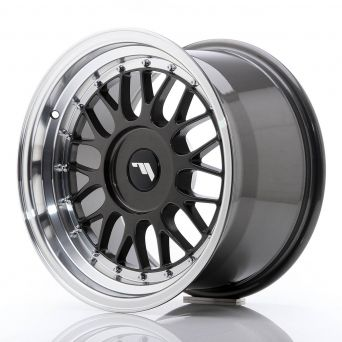 Japan Racing Wheels - JR-23 Hiper Black (16x9 inch)
