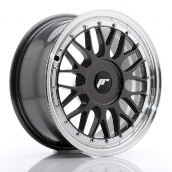 Japan Racing Wheels - JR-23 Hiper Black (17x8 inch)