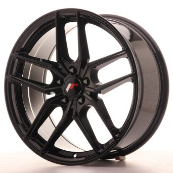 Japan Racing Wheels - JR-25 Glossy Black (19x8.5 inch)