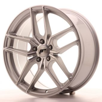 Japan Racing Wheels - JR-25 Silver Machined (19x8.5 inch)