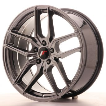 Japan Racing Wheels - JR-25 Hiper Black (19x8.5 inch)