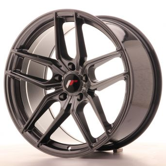 Japan Racing Wheels - JR-25 Hiper Black (19x9.5 inch)