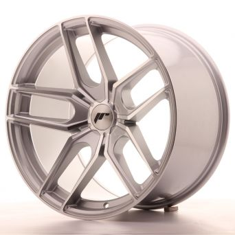 Japan Racing Wheels - JR-25 Silver Machined (19x11 inch)