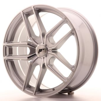 Japan Racing Wheels - JR-25 Silver Machined (20x8.5 inch)