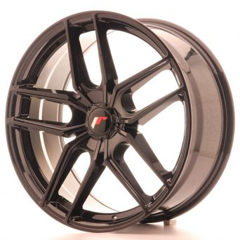 Japan Racing Wheels - JR-25 Glossy Black (20x8.5 inch)