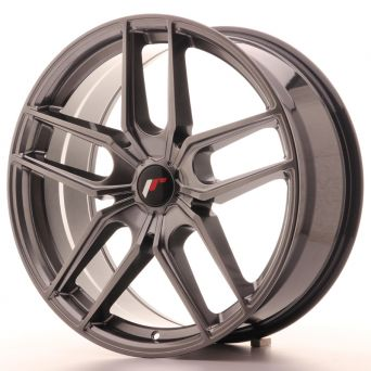 Japan Racing Wheels - JR-25 Hiper Black (20x8.5 inch)
