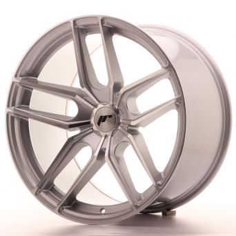 Japan Racing Wheels - JR-25 Silver Machined (20x11 inch)