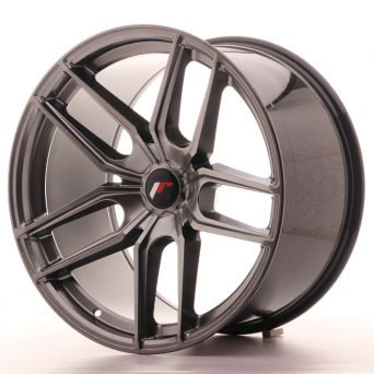 Japan Racing Wheels - JR-25 Hiper Black (20x11 inch)