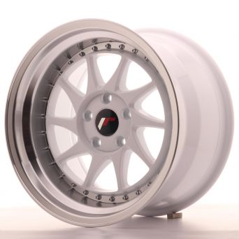 Japan Racing Wheels - JR-26 White (15x8 inch)