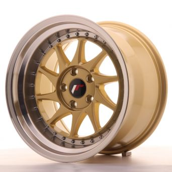 Japan Racing Wheels - JR-26 Gold (15x8 Zoll)