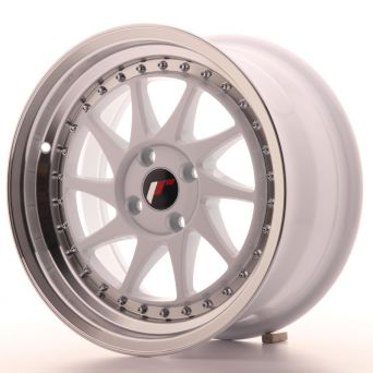 Japan Racing Wheels - JR-26 White (16x8 inch)