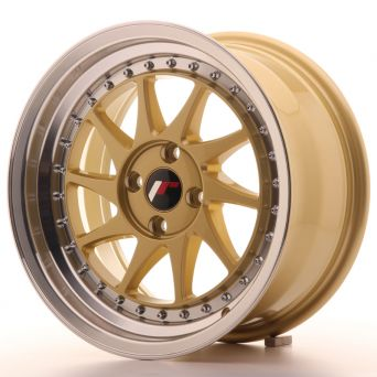 Japan Racing Wheels - JR-26 Gold (16x8 inch)