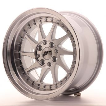 Japan Racing Wheels - JR-26 Machined Silver (16x9 inch)