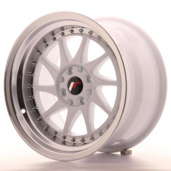 Japan Racing Wheels - JR-26 White (16x9 Zoll)