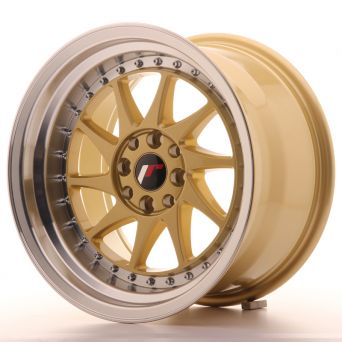 Japan Racing Wheels - JR-26 Gold (16x9 inch)