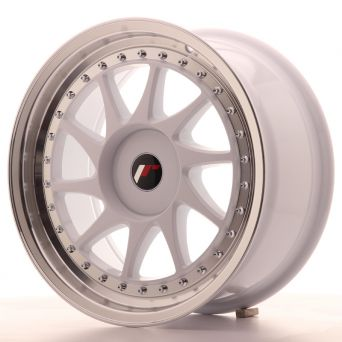 Japan Racing Wheels - JR-26 White (17x8 inch)