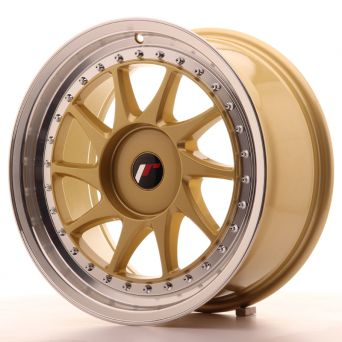 Japan Racing Wheels - JR-26 Gold (17x8 inch)