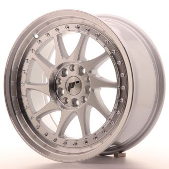Japan Racing Wheels - JR-26 Silver Machined (17x8 inch)