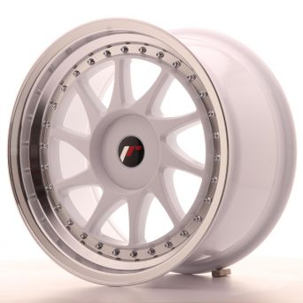 Japan Racing Wheels - JR-26 White (17x9 inch)