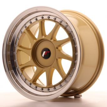 Japan Racing Wheels - JR-26 Gold (17x9 inch)