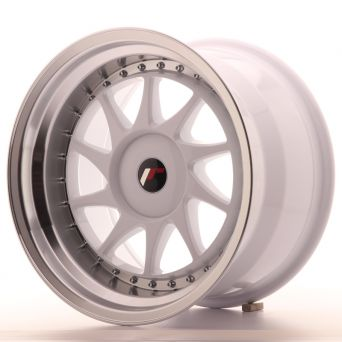 Japan Racing Wheels - JR-26 White (17x10 inch)