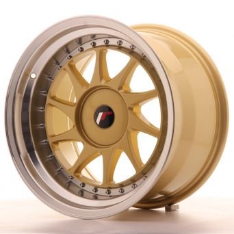 Japan Racing Wheels - JR-26 Gold (17x10 inch)