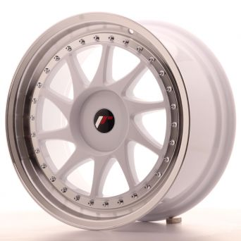 Japan Racing Wheels - JR-26 White (18x8.5 inch)