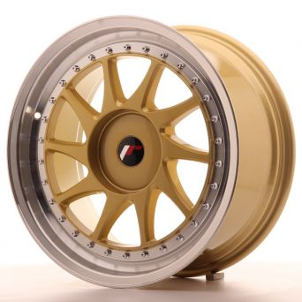 Japan Racing Wheels - JR-26 Gold (18x8.5 inch)