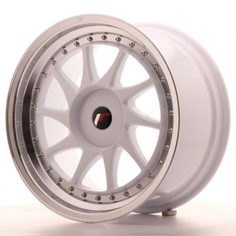 Japan Racing Wheels - JR-26 White (18x9.5 inch)