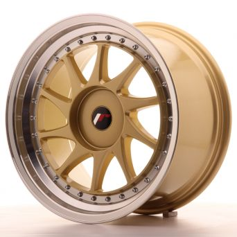 Japan Racing Wheels - JR-26 Gold (18x9.5 inch)