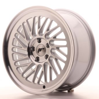 Japan Racing Wheels - JR-27 Machined Silver (18x8.5 inch)