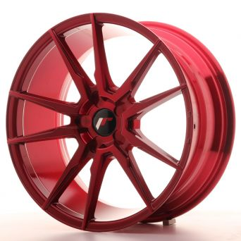 Japan Racing Wheels - JR-21 Plat Red (18x8.5 inch)
