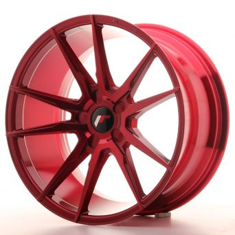 Japan Racing Wheels - JR-21 Plat Red (18x9.5 inch)
