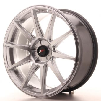 Japan Racing Wheels - JR-11 Hyper Silver (19x8.5 inch)