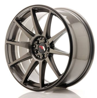 Japan Racing Wheels - JR-11 Hyper Black (19x8.5 inch)