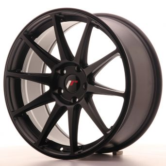 Japan Racing Wheels - JR-11 Matt Black (19x8.5 inch)